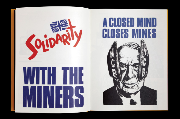 A Closed Mind Closes Mines poster, inside spread