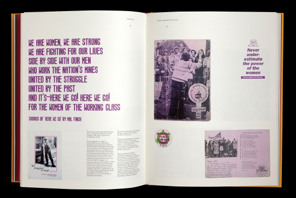 Inside spread focussing on women's contribution to the Miners' Strike